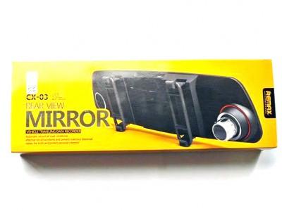 Full HD Видеорегистратор Remax CX-03 Зеркало заднего вида с 2 камерами