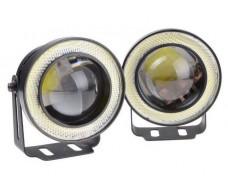 Светодиодные туманки 30W LED COB диаметр 64мм